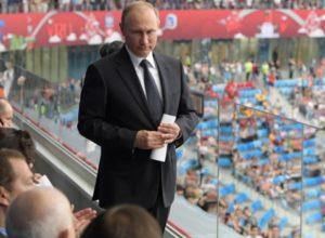 Песков рассказал о реакции Путина на фиаско сборной России