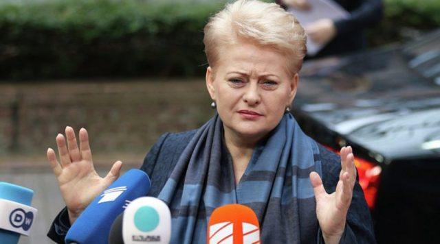 Президент Литви виступила з терміновою заявою щодо України