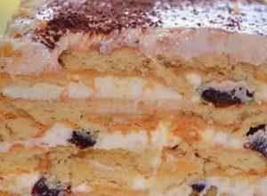 Лише печиво з сиром і чорносливом! Жоден гість не здогадався, що це – торт без випічки. Від справжньоrо не відрізниш!